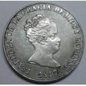 1847 - BARCELONA - 4 REALES - ISABEL II