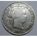 1864 - BARCELONA - 4 REALES - ISABEL II