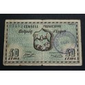 1937 - BELLPUIG D URGELL- 50 CENTIMOS- LLEIDA- LERIDA