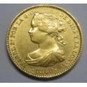 1866 -MADRID- 10 ESCUDOS -ISABEL II -ESPAÑA