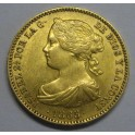 1865 -MADRID- 10 ESCUDOS -ISABEL II -ESPAÑA