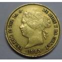 1863 - 4 PESOS - MANILA - FILIPINAS - ISABEL II