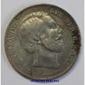 1870- WILLEN III - 2 1/2 GULDEN - HOLANDA