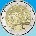 2021 - ZUVINTAS - 2  EUROS - LITUANIA