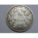 1905 - ALEMANIA - 1/2 MARCOS - DEUTSCHE REICH