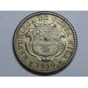 1910 - COSTA RICA - 10 CENTIMOS - PLATA -AMERICA