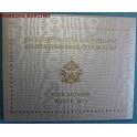 2013 - VATICANO - 2 EUROS - SEDE VACANTE - BLISTER OFICIAL-monedasbarcino