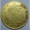 1789 - LIMA - PERU - 8 ESCUDOS - CARLOS IV