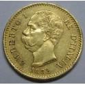 1882 20 LIRE UMBERTO I ITALY