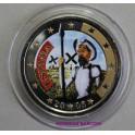 2005 - ESPAÑA -2 EUROS - QUIJOTE - COLOR