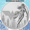 2021- WONDER WOMAN- 2 DOLLARS - NIUE -ONZA
