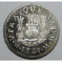 1761 - MEXICO - 1 REAL - CARLOS III ESPAÑA