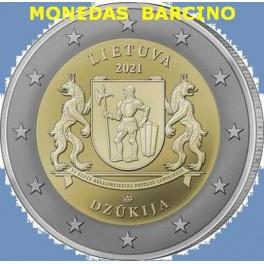 2021 - DZUKIJA- 2  EUROS - LITUANIA