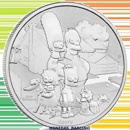 2021 - FAMILIA SIMPSON - DOLLAR - TUVALU - ONZA