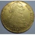 1786 - POTOSI  BOLIVIA - CARLOS III - 8 ESCUDOS