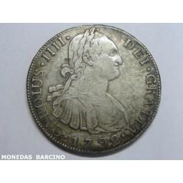 1792 - GUATEMALA - 8 REALES -CARLOS IV
