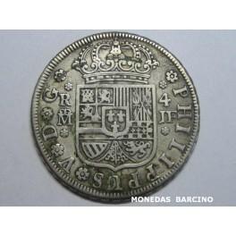 1734 - MADRID - 4 REALES- FELIPE V - PLATA