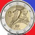 2021 - PARIS 2024 - 2 EUROS- FRANCIA - COINCARD