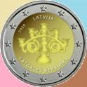 2020 - CERAMICA - 2 EUROS - LETONIA