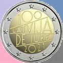 2021 - IURE - 2 EUROS - LETONIA
