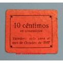 LA CAROLINA - JAEN-10 CTS-www.casadelamoneda.com
