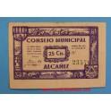 ALCAÑIZ- TERUEL- 25 cts-www.casadelamoneda.com