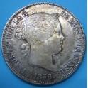 ISABEL II 20 reales 1856. www.casadelamoneda.com