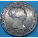 ISABEL II 20 reales 1854 Madrid. www.casadelamoneda.com