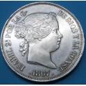 ISABEL II 2 escudos 1867. www.casadelamoneda.com