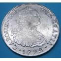 Peru 1792 Carlos IV .www.casadelamoneda.com