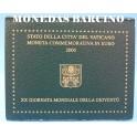 2005- VATICANO - 2 EUROS - MONDIALE GIOVENTU
