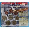 2010 - GRECIA  -  EUROS- EUROCOIN SET