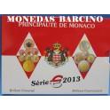 2013 - MONACO - EUROS - BLISTER  ONU