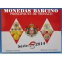2014 - MONACO - EUROS - BLISTER  OLIVIERS