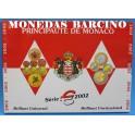 2002 - MONACO - EUROS - BLISTER