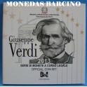 2013 - ITALIA -  EUROS - VERDI -COIN SET-MONEDAS BARCINO