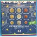 2011 - ITALIA -  EUROS - COIN SET BLISTER-MONEDA BARCINO-