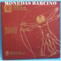 2008 - ITALIA -  EUROS - BLISTER- MONEDAS BARCINO