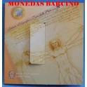 2004- ITALIA -  EUROS - BLISTER- COIN SET-MONEDAS BARCINO
