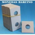 CARTONES PARA MONEDAS - 20mm