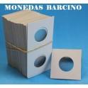 CARTONES PARA MONEDAS - 25mm