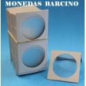 CARTONES PARA MONEDAS - 40mm