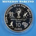 2013 -10 EUROS - ESPAÑA - FIFA BRASIL