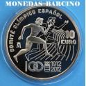 2012 - ESPAÑA - 10 EUROS - OLIMPICO
