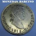 1813 - CATALUÑA 2 ESCUDOS - FERNANDO VII