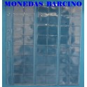 HOJAS PARA MONEDAS - 48 DEPARTAMENTOS