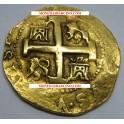 1735 - 8 ESCUDOS -PHILIP V- PERU - LIMA- GOLD- www.monedasbarcino.com