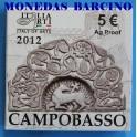 2012 - ITALIA - 5 EUROS -  CAMPOBASSO - ARTE