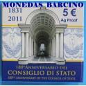 2011 - ITALIA - 5 EUROS -  CONSIGLIO STATO