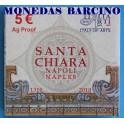 2010 - ITALIA - 5 EUROS -  SANTA CHIARA - NAPOLES